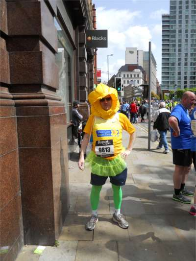 after great Manchester run 2010 picture - courtesy of bats