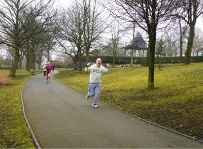 Woodbank Park Run March 2010 -  Road Runner Rob
